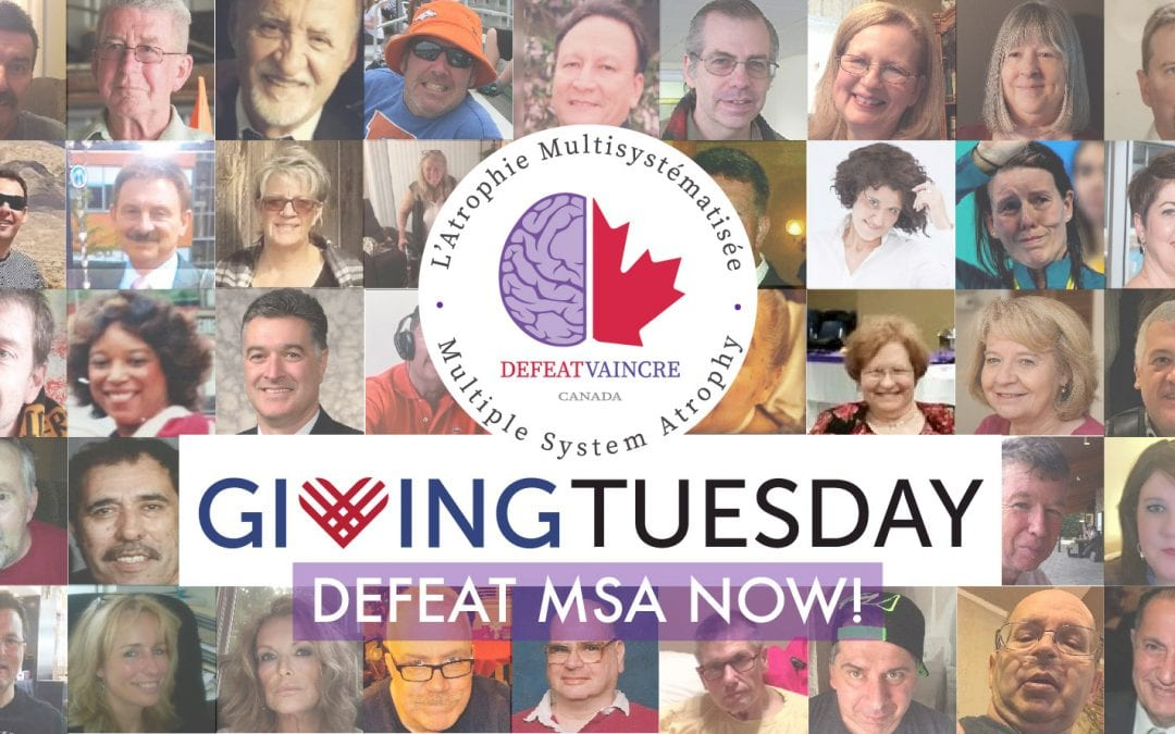 Announcing Defeat MSA Canada #GivingTuesday Fundraiser – Help Us!