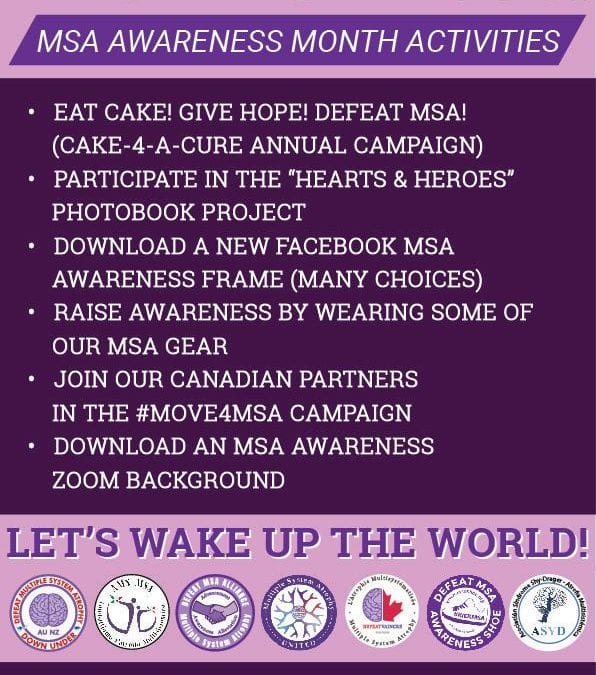 JOIN WITH US FOR MSA AWARENESS MONTH!