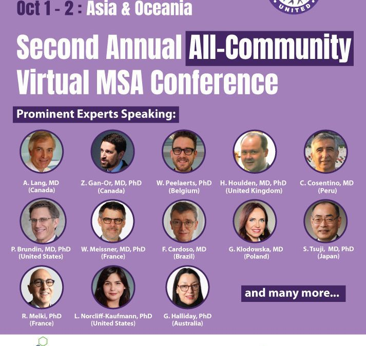 REGISTER NOW – MSA VIRTUAL FREE CONFERENCE, SEPT 24-OCT 2
