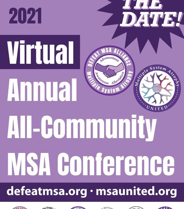 SAVE THE DATE: MSA ANNUAL VIRTUAL CONFERENCE, OCTOBER 1-3, 2021
